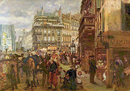 アドルフ・メンツェル パリの平日