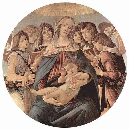 サンドロ・ボッティチェリ ザクロの聖母