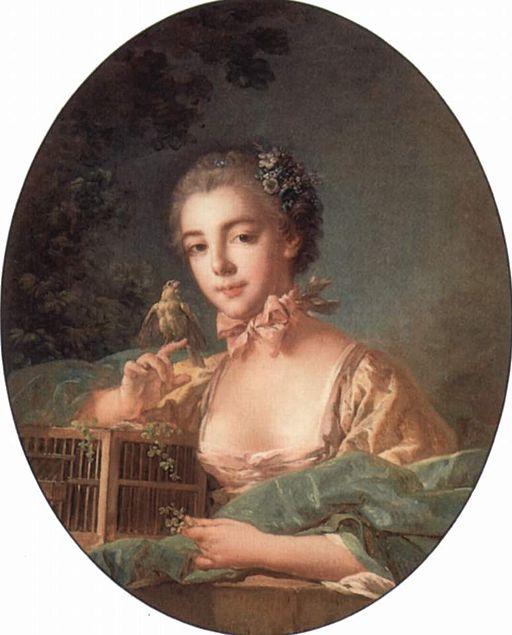 フランソワ・ブーシェ ボードワン夫人