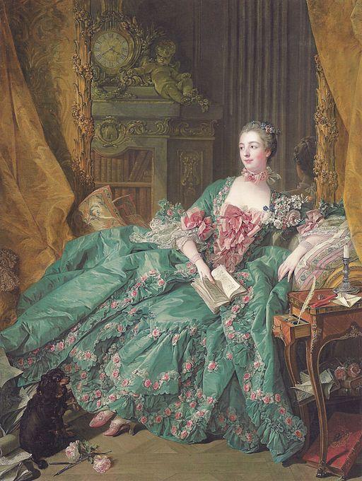 フランソワ・ブーシェ ポンパドゥール夫人