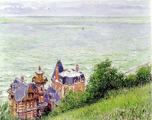ギュスターヴ・カイユボット トゥルヴィーユの別荘