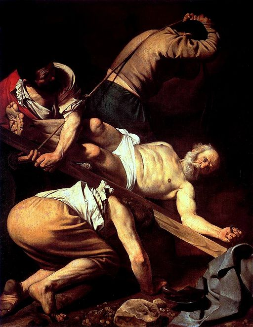 ミケランジェロ・メリージ・ダ・カラヴァッジオ 聖ペテロの磔刑