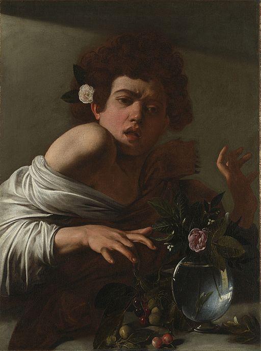 ミケランジェロ・メリージ・ダ・カラヴァッジオ トカゲに噛まれた少年