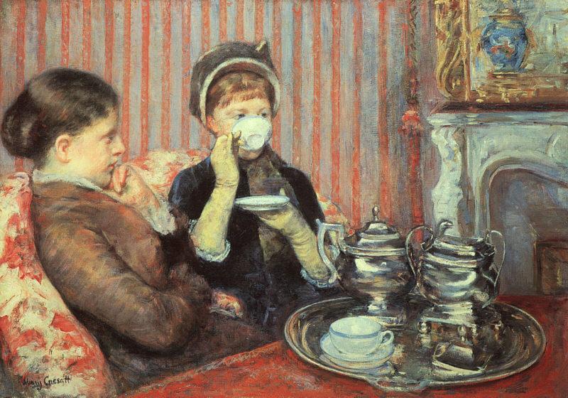 メアリー・カサット お茶