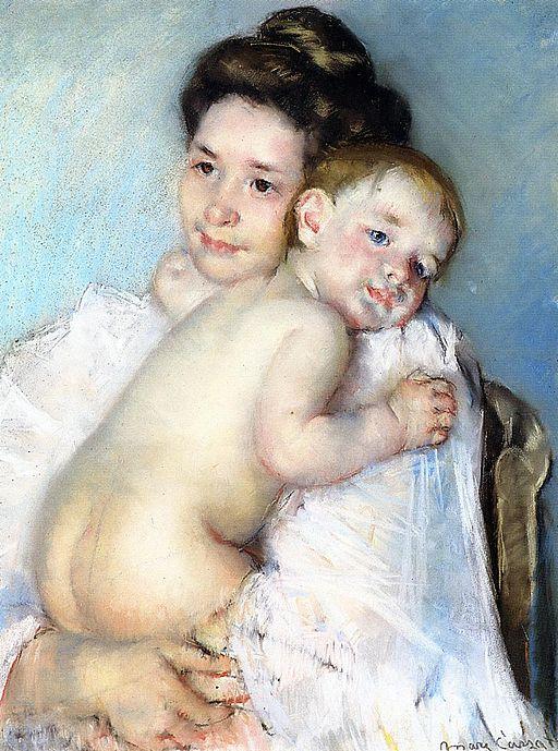 メアリー・カサット 母と子