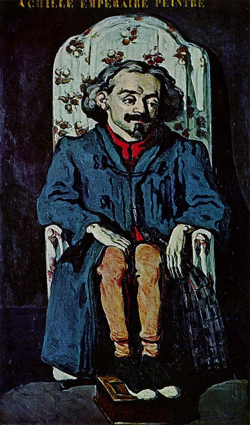 ポール・セザンヌ アシル・アンプレールの肖像