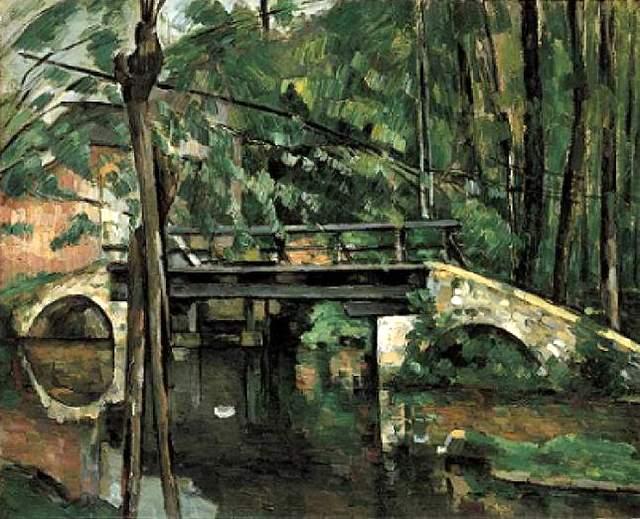 ポール・セザンヌ マンシーの橋