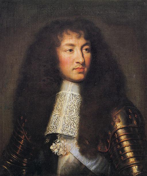 シャルル・ル・ブラン ルイ14世の肖像