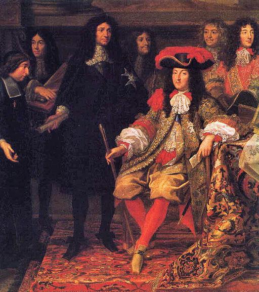 シャルル・ル・ブラン ルイ14世とコルベール