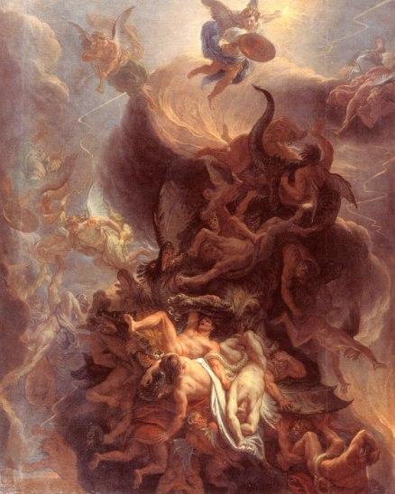 シャルル・ル・ブラン 天国の戦争