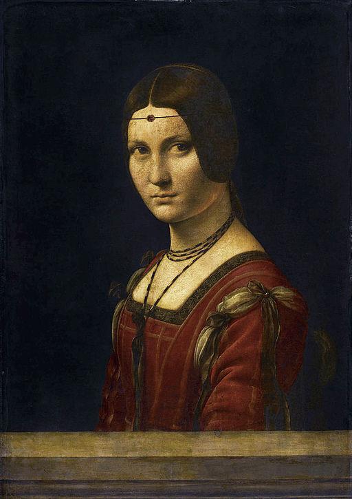 レオナルド・ダ・ヴィンチ ミラノの貴婦人の肖像