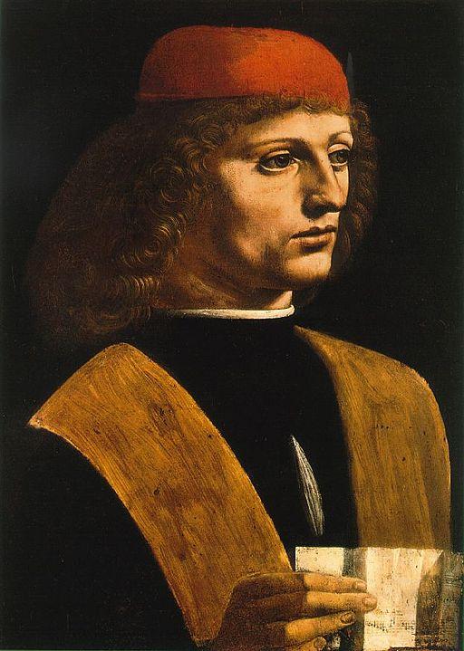 レオナルド・ダ・ヴィンチ 音楽家の肖像