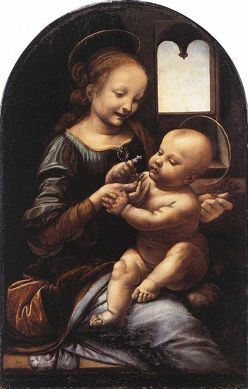 レオナルド・ダ・ヴィンチ ブノアの聖母