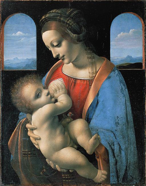レオナルド・ダ・ヴィンチ カーネーションの聖母
