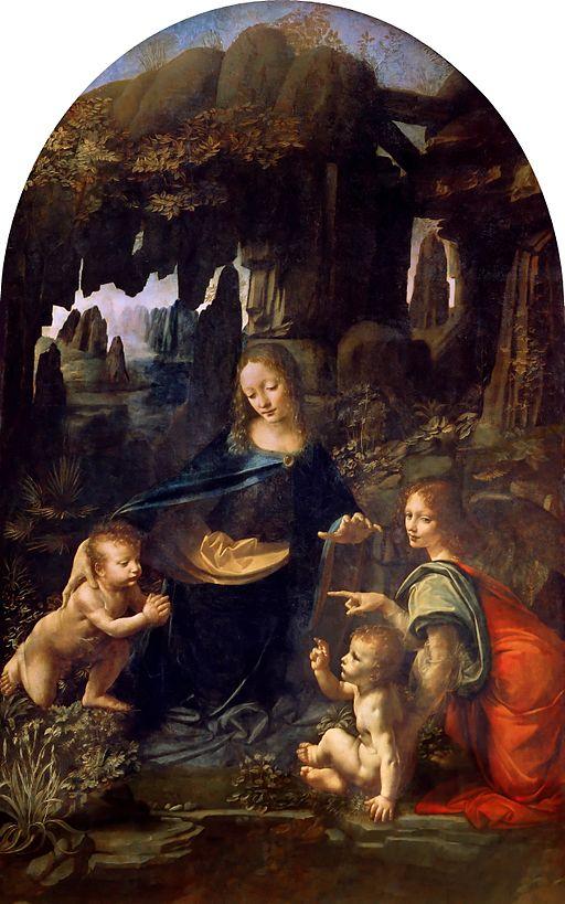 レオナルド・ダ・ヴィンチ 岩窟の聖母