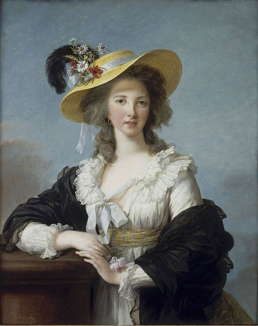 エリザベート・ヴィジェ=ルブラン ポリニャック公爵夫人の肖像