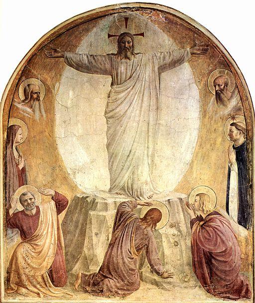 フラ・アンジェリコ キリストの変容