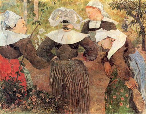 ポール・ゴーギャン ブルターニュの4人の女