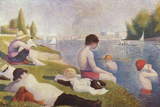 ジョルジュ・スーラ アニエールの水浴