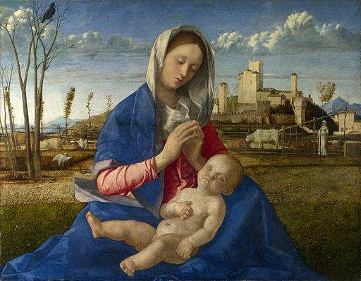 ジョヴァンニ・ベッリーニ 牧場の聖母