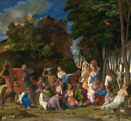 ジョヴァンニ・ベッリーニ 神々の祝祭