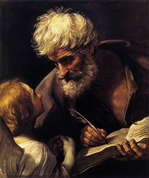 グイド・レーニ St Matthew and the Angel