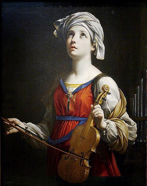 グイド・レーニ Saint Cecilia
