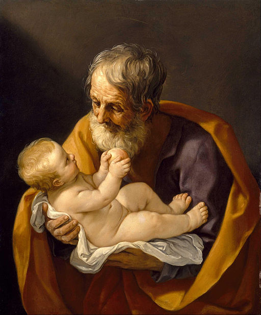 グイド・レーニ Saint Joseph and the Christ Child