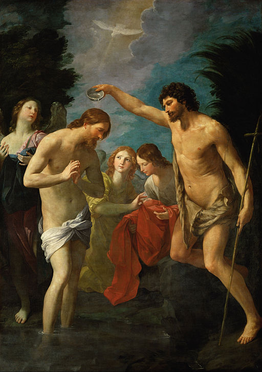 グイド・レーニ The Baptism of Christ