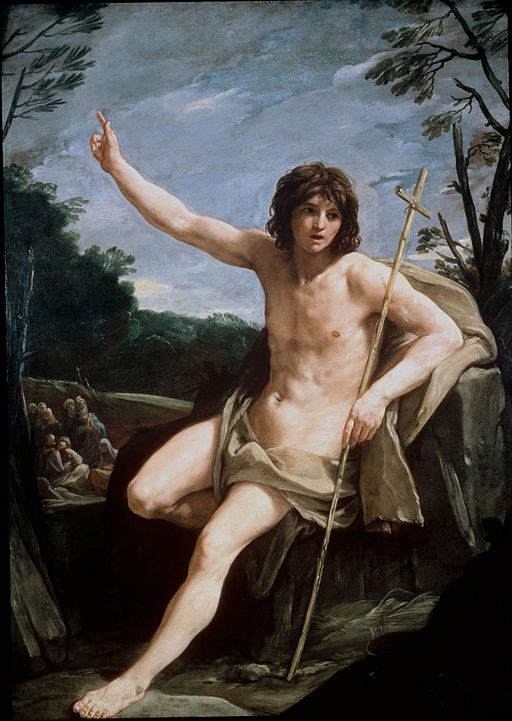 グイド・レーニ St John the Baptist in the Wilderness