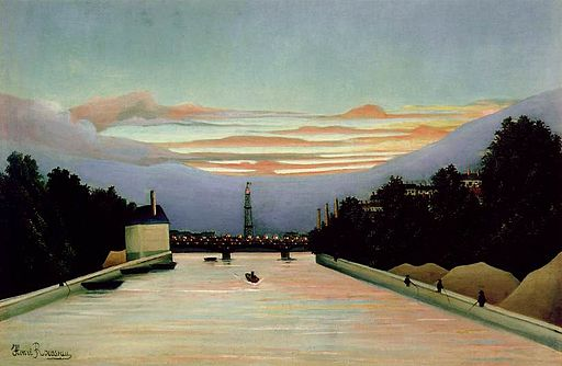 アンリ・ルソー La tour Eiffel peinte