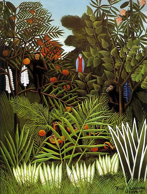 アンリ・ルソー Exotic Landscape