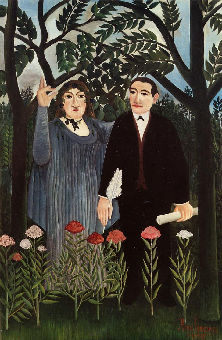 アンリ・ルソー 詩人に霊感を与えるミューズ