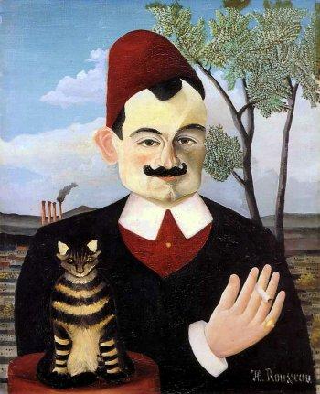 アンリ・ルソー ピエール・ロティの肖像