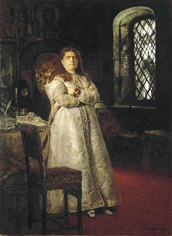 イリヤ・レーピン 皇女ソフィア