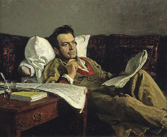 イリヤ・レーピン ミハイル・グリンカの肖像