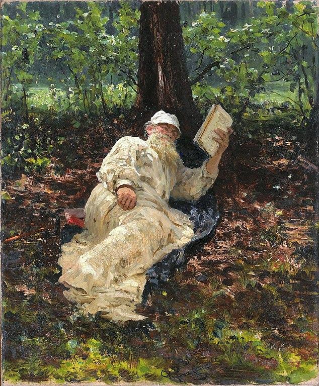 イリヤ・レーピン レフ・トルストイの肖像