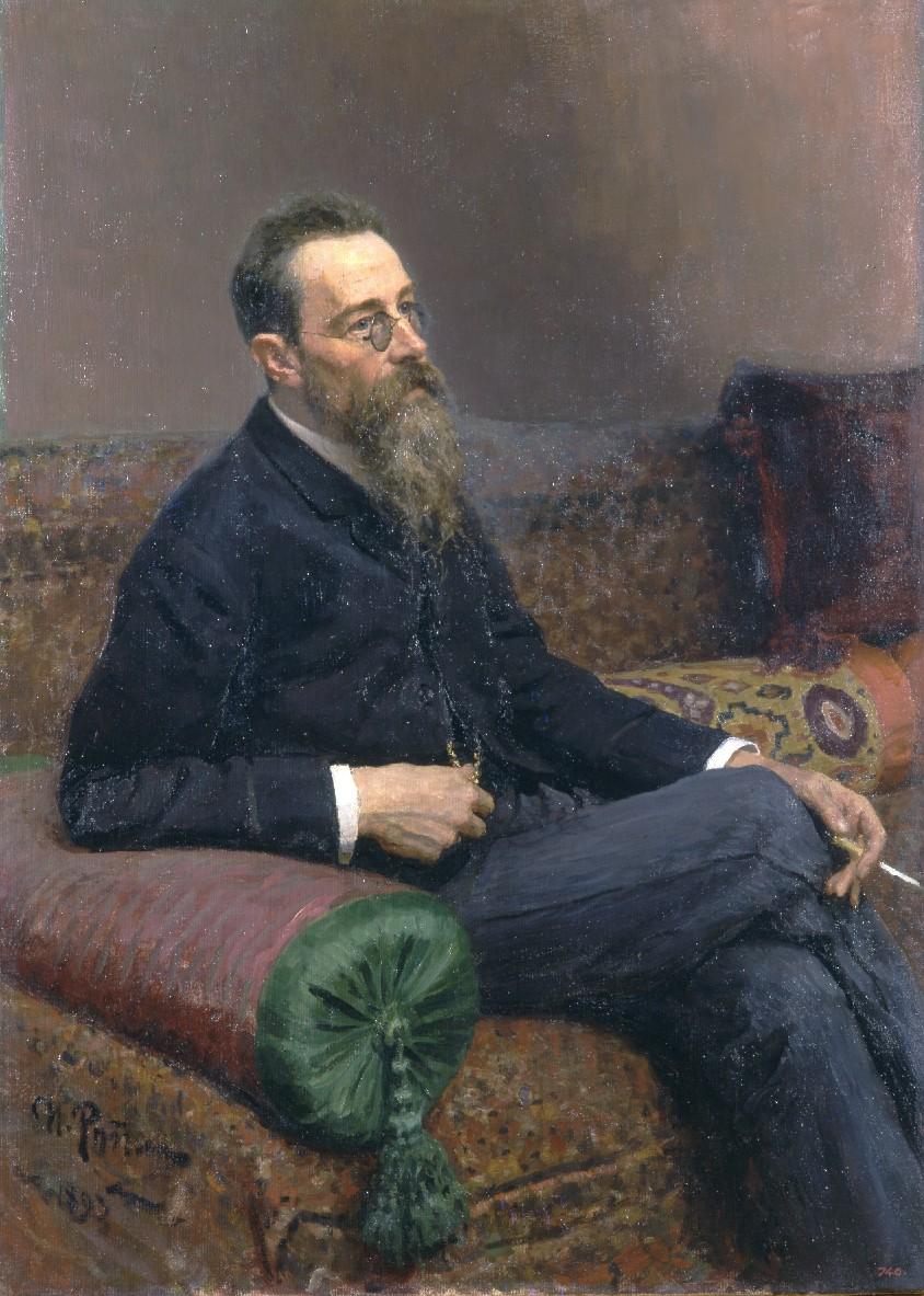 イリヤ・レーピン ニコライ・リムスキー=コルサコフの肖像