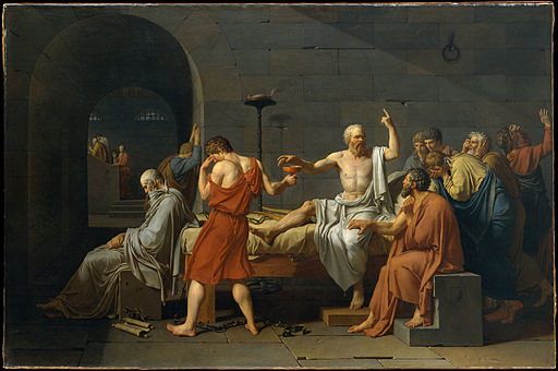 ジャック=ルイ・ダヴィッド ソクラテスの死