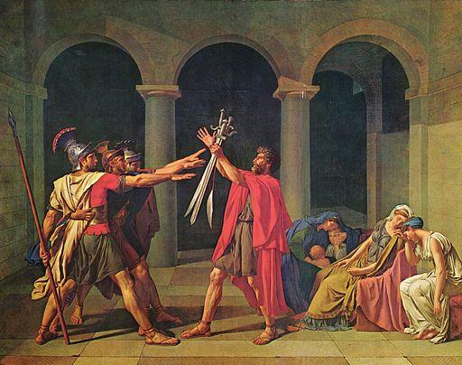 ジャック=ルイ・ダヴィッド ホラティウス兄弟の誓い