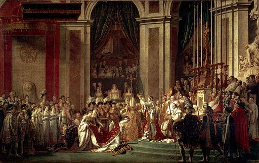 ジャック=ルイ・ダヴィッド ナポレオン一世の戴冠式と皇妃ジョゼフィーヌの戴冠