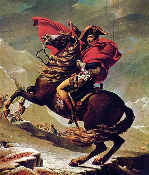 ジャック=ルイ・ダヴィッド アルプスを越えるナポレオン