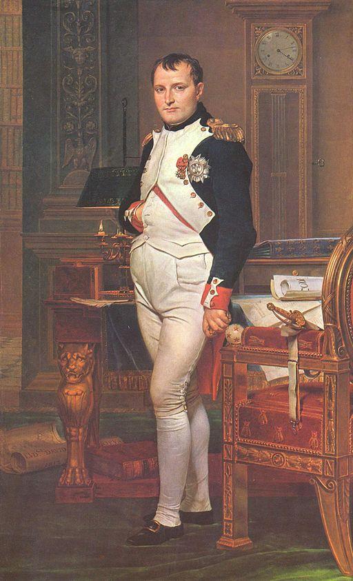 ジャック=ルイ・ダヴィッド 書斎のナポレオン