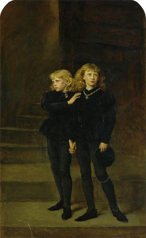 ジョン・エヴァレット・ミレイ 塔の中の王子たち