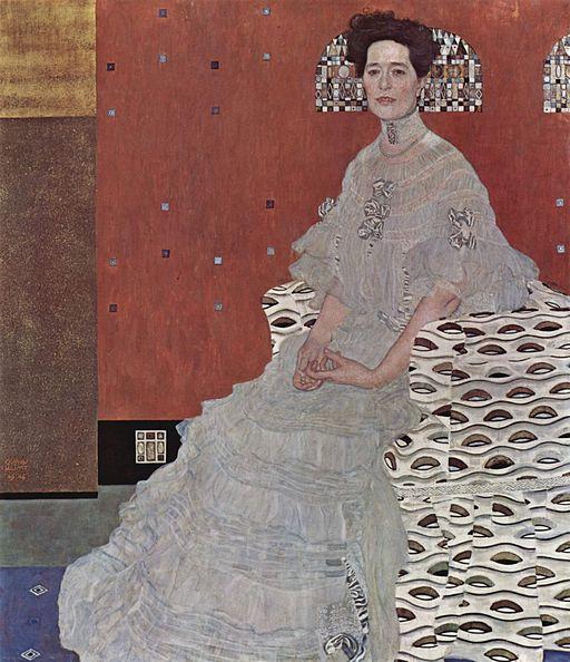 クリムト・グスタフ フリッツア・リードラーの肖像