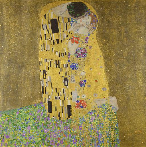 クリムト・グスタフ 接吻