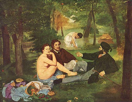 エドゥアール・マネ 草上の昼食