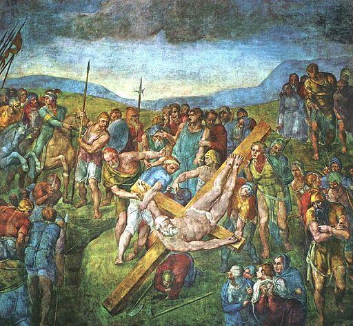 ミケランジェロ・ブオナローティ 聖ペテロの殉教