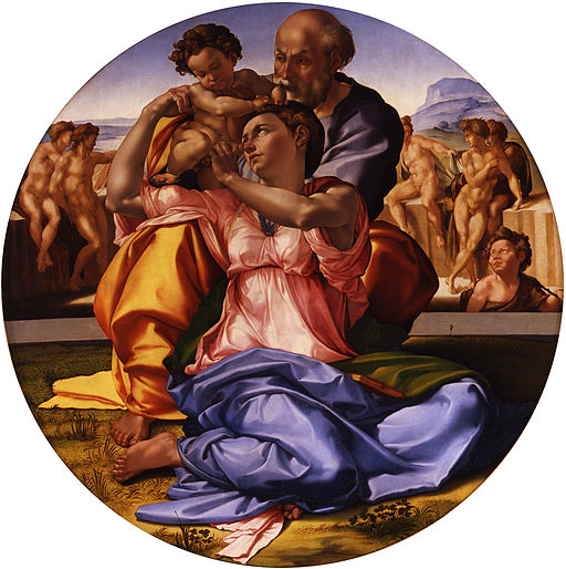 ミケランジェロ・ブオナローティ 聖家族