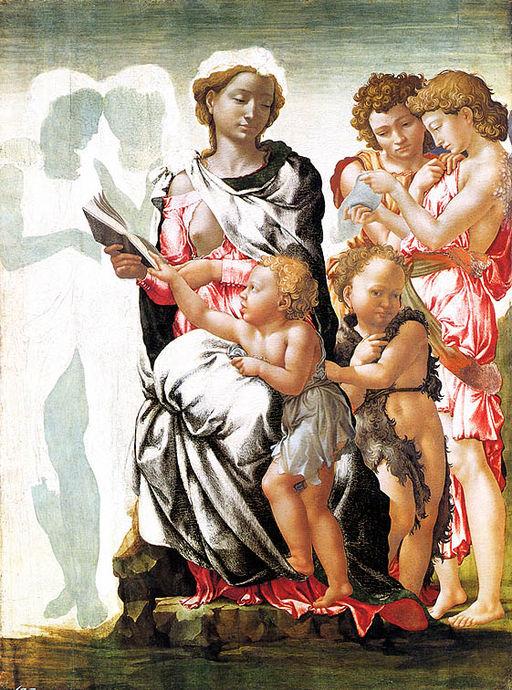 ミケランジェロ・ブオナローティ マンチェスターの聖母